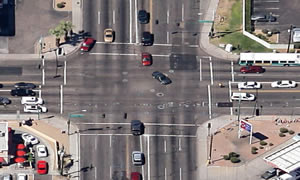 Phoenix has the 4th most dangerous intersection in the United States