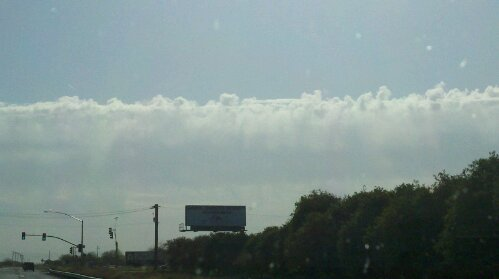 This is an example of the clouds kept at bay by the Phoenix heat
