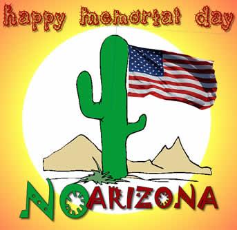 No Arizona Memorial Day