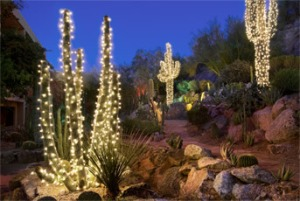 Ugly Christmas decorations in Arizona
