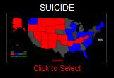 Arizona suicide map
