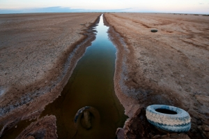The once Colorado River no longer runs to the sea