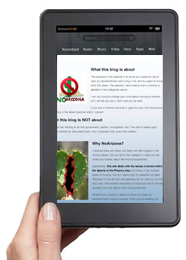 Download NoArizona articles and take them with you to go on your e-book reader!